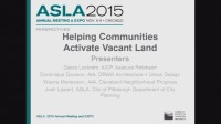 Helping Communities Activate Vacant Land - 1.5 PDH (LA CES/HSW)