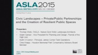 Civic Landscapes: Private/Public Partnerships and Resilient Public Spaces - 1.5 PDH (LA CES/non-HSW)