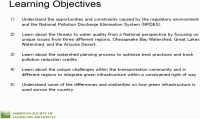 Green Highways: Solving Water Quality Crises across the Country - 1.5 PDH (LA CES/HSW)