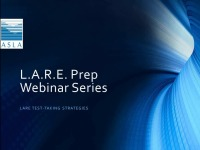 LARE Prep: Test Taking Tips