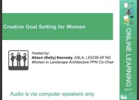 Creative Goal Setting for Women - 1.0 PDH (LA CES/NON-HSW)