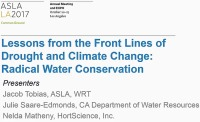 Lessons from the Front Lines of Drought and Climate Change: Radical Water Conservation - 1.5 PDH (LA CES/HSW)