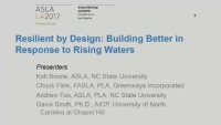 Resilient by Design: Building Better in Response to Rising Waters - 1.5 PDH (LA CES/HSW)