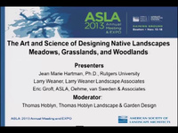 The Art and Science of Designing Native Landscapes: Meadows, Grasslands, and Woodlands - 1.5 PDH (LA CES/HSW)