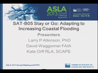 Stay or Go: Adapting to Increasing Coastal Flooding - 1.5 PDH (LA CES/HSW)